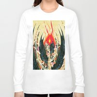 dragon Long Sleeve T-shirts featuring  Dragon  by Shane R. Murphy