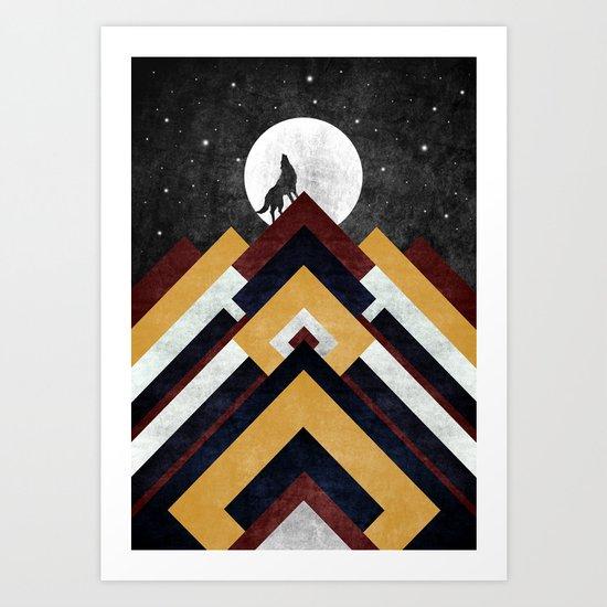 Wolf I Art Print