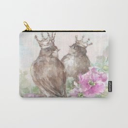French Crown Songbirds II Carry-All Pouch