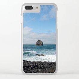 Coastal Break Clear iPhone Case