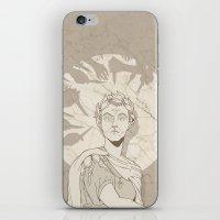 et iPhone & iPod Skins featuring Et tu, Brute? by hatrobot