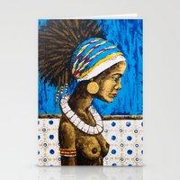 cuba Stationery Cards featuring CUBA  by Olga Krokhicheva