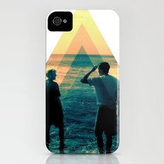 Shape of the ocean iPhone (4, 4s) Slim Case