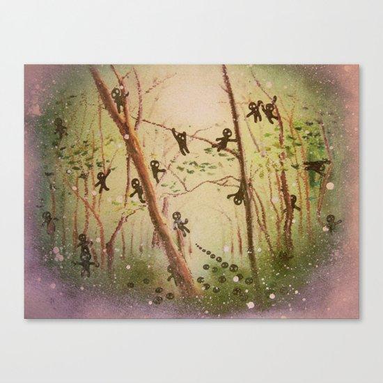 little spirits Canvas Print