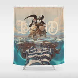 ISLAND-JONAH Shower Curtain