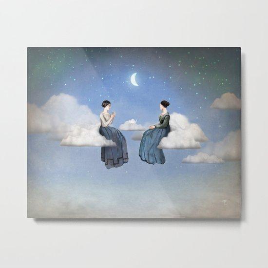 Wind, Clouds and Tea Metal Print