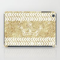 crown iPad Cases featuring CROWN by Sara LG