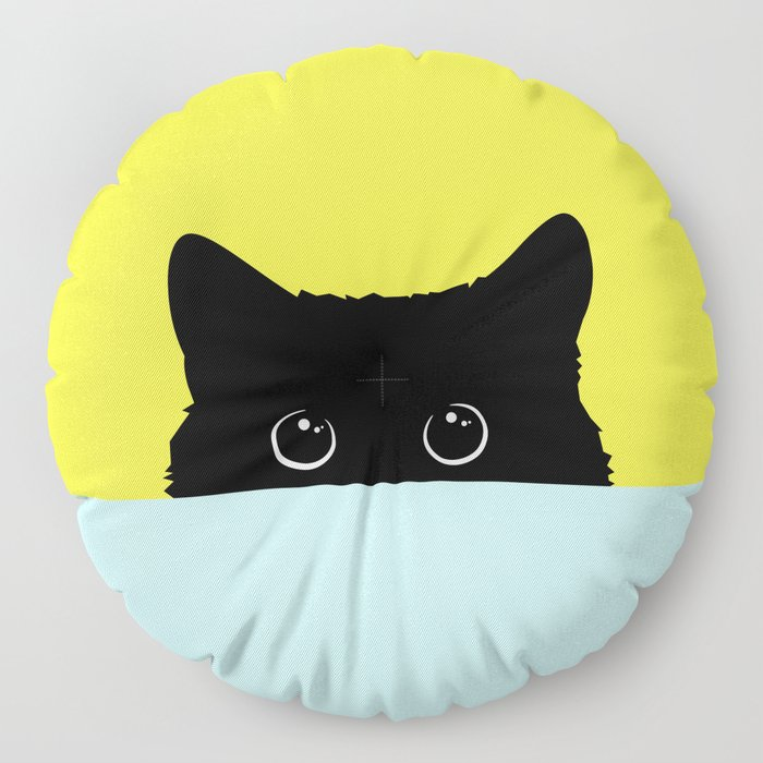 Kitty Floor Pillow