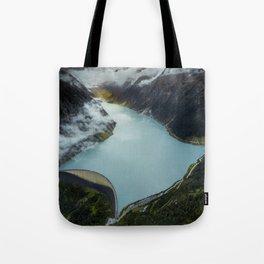 Hidden lake in Austrian Alps Tote Bag
