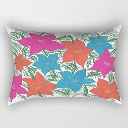Bright Bouquet Rectangular Pillow