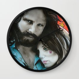 'Mr. Mojo Risin' And Pam' Wall Clock