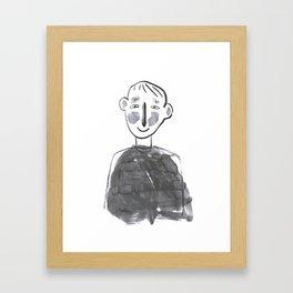 conversation 4 Framed Art Print