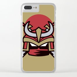 Way of the Samurai Clear iPhone Case