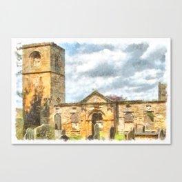 Old Holy Trinity Church, Wentworth Canvas Print