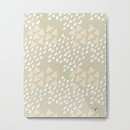 'fruity pebbles' - pattern Metal Print