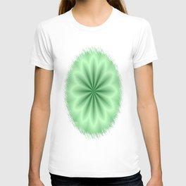 Green Abstract Star T-shirt