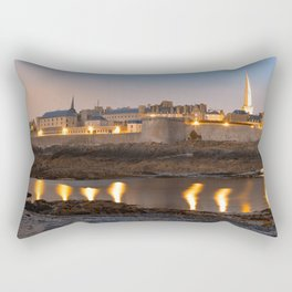 Saint Malo Twilight Rectangular Pillow