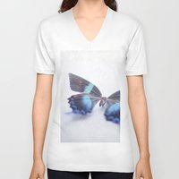 butterfly V-neck T-shirts featuring Butterfly by Pure Nature Photos