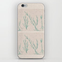 Plants in a Line iPhone Skin