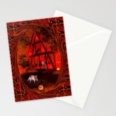 The Halloween Party. Stationery Cards