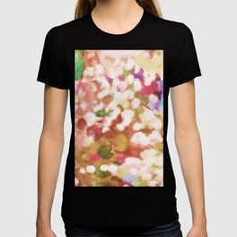 Colorful Pop Bubbles Abstract T-shirt