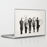 shinee Laptop & iPad Skins featuring shinee [ the deathbringers ] by Fairy Cat