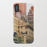 manhattan iPhone & iPod Cases featuring Manhattan by Keira