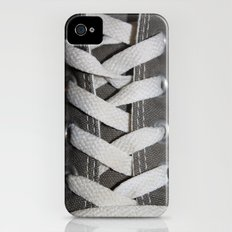 All Laced Up And Nowhere To Go iPhone (4, 4s) Slim Case