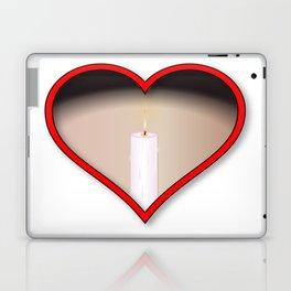 Love Candles Laptop & iPad Skin