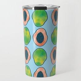 blue papaya Travel Mug