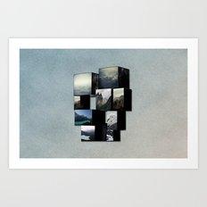 VACANCY zine Art Print