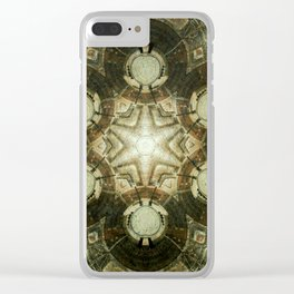 Kaleidoscope of Downtown Kansas City Library Clear iPhone Case