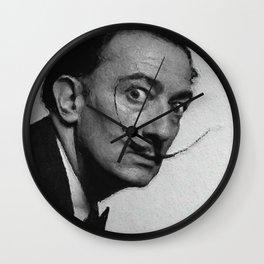 Salvador Dali, Artist Wall Clock