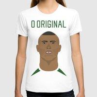 ronaldo T-shirts featuring Ronaldo 2002 - O Original by Patrick Design