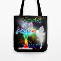 fairytale Tote Bags featuring Fairytale by Augustinet