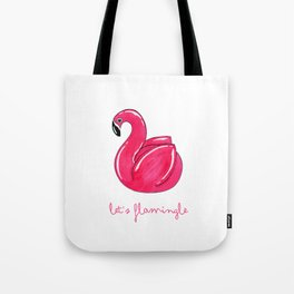 Flamingle Flamingo Float Tote Bag
