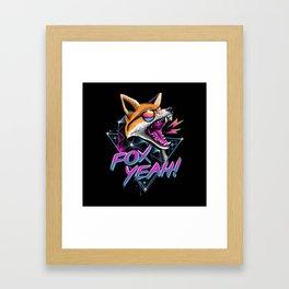 Fox Yeah! Framed Art Print