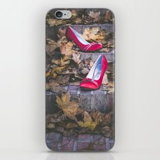 Red Shoes iPhone & iPod Skin