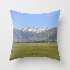 Sawtooth  Throw Pillow