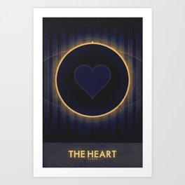 Pluto - The Heart Art Print