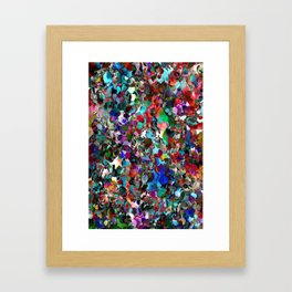 Red Dot Party Framed Art Print