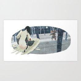 Crane Wife Art Print