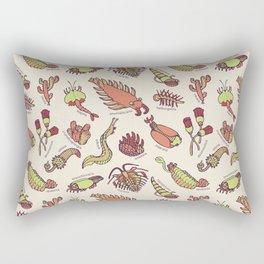 Cambrian Critters Rectangular Pillow