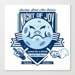 Night of Joy Canvas Print