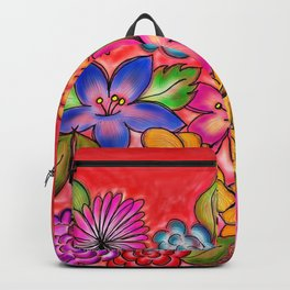Lovely Flowers Backpack