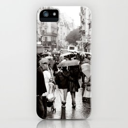 La Vie Parissiene iPhone Case