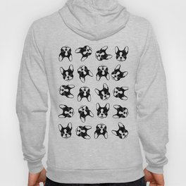 French bulldog pattern Hoody