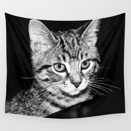 Time is what turns kittens into cats Wall Tapestry