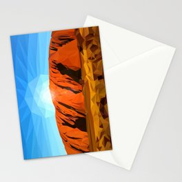 Uluru the Mighty Dreamer - Ayers Rock, Outback - Australia Stationery Cards