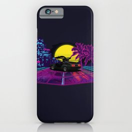 Sunset Drive iPhone Case